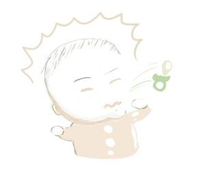 mi bebe escupe el chupete