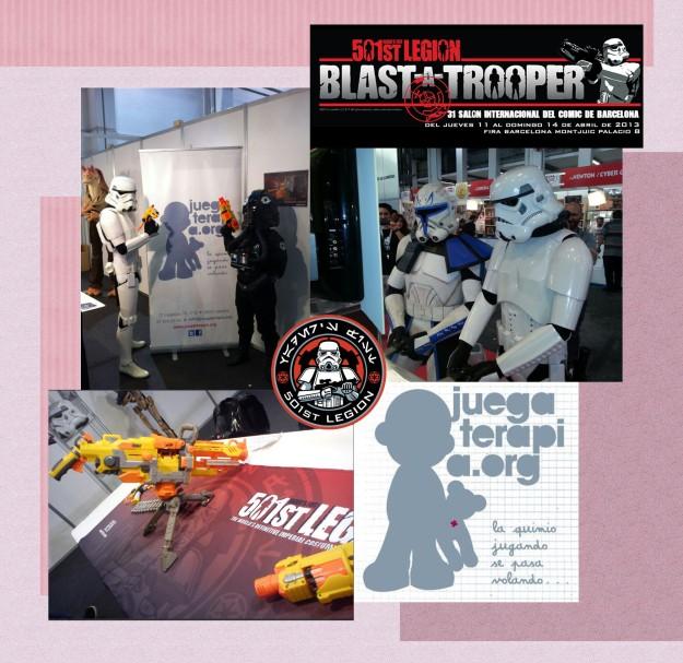 blast a trooper