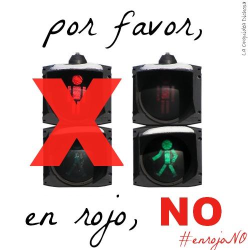 Campaña de la Orquídea Dichosa #enrojoNO