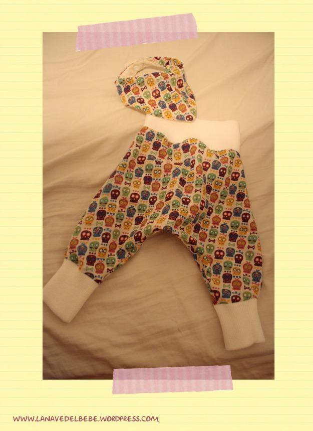 coser pantalon para bebé